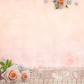 Beige wedding background Royalty Free Stock Photography