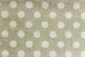 Beige and white tablecloth pattern backgrounds Royalty Free Stock Photo