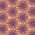 Beigea violet geometric pattern Royaltyfri Bild
