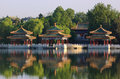 The Beihai Park Five-Dragon Pavilion,Beijing Royalty Free Stock Photography