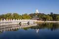 Beihai park is located in beijing city and the sea south china sea branch called the three named after the sea the total area of Royalty Free Stock Images