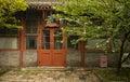 Beijing ancient observatory office china door Stock Photo