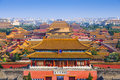 Beijing China Forbidden City Royalty Free Stock Photo