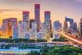 Beijing, China Skyline Royalty Free Stock Photo