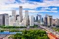 Beijing China Skyline Royalty Free Stock Photo