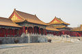 Beijing, the Forbidden City Royalty Free Stock Photo