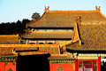 Beijing forbidden city it is the ming qing two generations of the palace the two generation of emperors to handle affairs and Stock Image