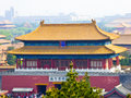 Beijing Forbidden City Palaces Royalty Free Stock Photo