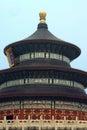 Beijing heaven temple Arkivfoto