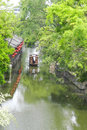 Beijing hutong alley and the classical architecture Royalty Free Stock Images