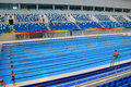 Beijing olympic swimming pool the internal details Royalty Free Stock Images