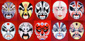 Beijing Opera Mask Royalty Free Stock Photos