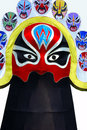 Beijing opera mask Stock Photography
