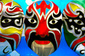 Beijing opera mask Royalty Free Stock Photo