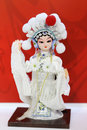 Beijing opera puppet view of traditional puppet。 Royalty Free Stock Image