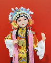 Beijing opera puppet view of traditional puppet。 Royalty Free Stock Photos