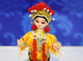 Beijing opera puppet view of traditional puppet。 Royalty Free Stock Images