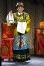 Beijing opera show Royalty Free Stock Photo