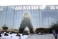 Beijing planetarium winter lps Royalty Free Stock Images