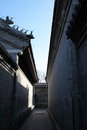 Beijing respectful wang fu courtyard china the qing dynasty palace historic buildings Stock Photography