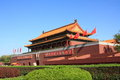 Beijing tiananmen china a landmark building in Stock Photography
