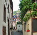 Beilstein at river Moselle Stock Images