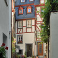 Beilstein at river moselle architectural detail of in the rhineland palatinate in germany Royalty Free Stock Photography