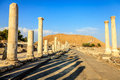 Beit she an ancient city of in israel Stock Photo
