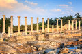 Beit she an ancient city of in israel Royalty Free Stock Photos