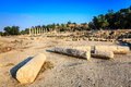 Beit she an ancient city of in israel Stock Images