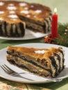 Bejgli cake Royalty Free Stock Image