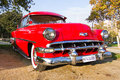 Bel Air 1954 de Chevrolet Fotografía de archivo libre de regalías