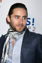Bel air yes jared leto arriving at the on prop campaign to stop animal cruelty at a private estate in belair ca on september Royalty Free Stock Photo