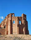 Belchite abandoned town in spain Stock Photos