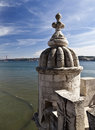Belem Tower Details Royalty Free Stock Photo