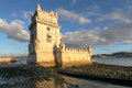 Belem tower lisbon portugal torre de on the tagus river guarding the entrance to in this is among the most famous and Stock Photography