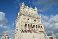 Belem Tower near Lisbon Royalty Free Stock Photo