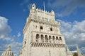 Belem Tower near Lisbon Royalty Free Stock Photo
