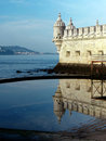 Belem Tower or Tower of St Vincent, Stock Photo
