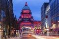 Belfast City Hall at evening
