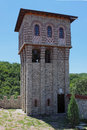 "The belfry of giginski monastery tsarnogorski monastery is situated in bulgaria ""st st kozma and damyan"" was center Stock Image"