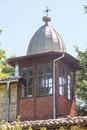 The belfry of the Monastery of St. Nicholas Royalty Free Stock Photo