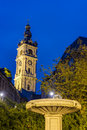 Belfry of mons in belgium one belfries and france a group historical buildings designated by unesco as world heritage site Stock Image