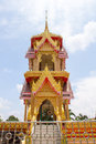 Belfry in public areas temple of thai Stock Photos