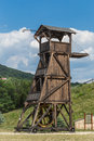 Belfry or siege tower Royalty Free Stock Photo
