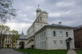 Belfry of St. Sophia Cathedral. Veliky Novgorod Royalty Free Stock Photo