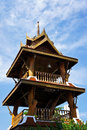 Belfry in the temple of thailand Stock Images
