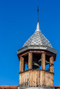 Belfry on the top church of modern orthodox Royalty Free Stock Images
