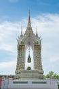 Belfry in watphrakaew bangkok thailand Royalty Free Stock Photo