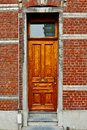 Belgian Door Royalty Free Stock Photo